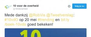 Tweet 10vdo trending